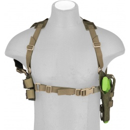 Flyye Industries Shoulder Holster and Magazine Pouch - KHAKI