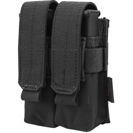 Flyye Industries MOLLE Double Pistol Magazine Pouch - BLACK