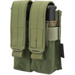 Flyye Industries MOLLE Double Pistol Magazine Pouch - OD GREEN