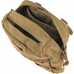Flyye Industries MOLLE Drop Leg Accessories Pouch - COYOTE BROWN