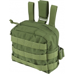 Flyye Industries MOLLE Drop Leg Accessories Pouch - OD GREEN