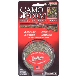 McNETT Camo Form Protective Fabric Wrap - MOSSY OAK OBSESSION