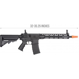 Classic Army KM12 Skirmish Series M4 Airsoft AEG Rifle - BLACK