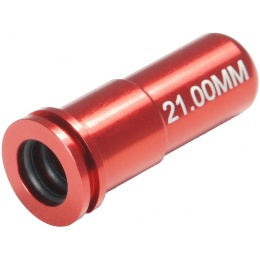 Maxx Model 21.00mm Aluminum Double O-Ring Air Seal Nozzle AEG - RED
