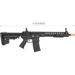 Classic Army CA115M Nemesis DE-12 Modstock AEG Rifle - BLACK
