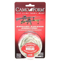 McNETT Camo Form Protective Camouflage Fabric Wrap - WOODLAND CAMO