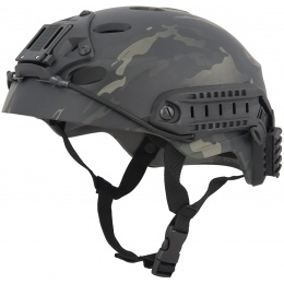 Lancer Tactical Special Forces Recon Tactical Helmet - MULTICAM BLACK