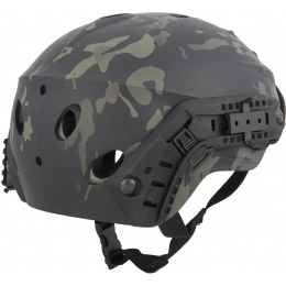 Lancer Tactical Special Forces Recon Tactical Helmet - MULTICAM BLACK