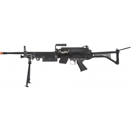 Classic Army CA249 MK-1 Airsoft LMG Rifle w/ Bipod - BLACK
