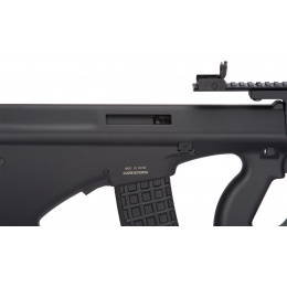 JG AUG A3 Rifle Quad RIS AEG Airsoft Rifle - BLACK