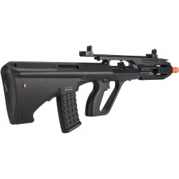 JG AUG A3 Rifle Quad RIS AEG Airsoft Rifle - BLACK