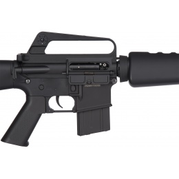 JG Full Size M16A1 Vietnam Airsoft AEG Rifle - BLACK