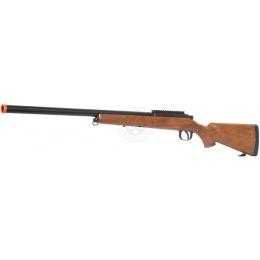AGM Metal Bolt Action VSR-10 Airsoft Sniper Rifle - Wood