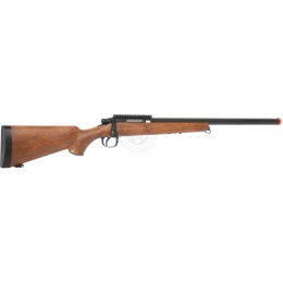 AGM Metal Bolt Action VSR-10 Airsoft Sniper Rifle - Wood
