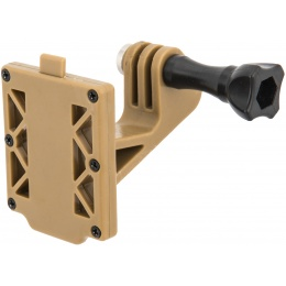 AMA Gopro Attachment for Tactical Helmet Shrouds - TAN