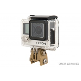 AMA Gopro Attachment for 20mm Picatinny Rails - TAN