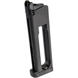 Cybergun Spartan STS-7 1911 MEU Metal CO2 Magazine - BLACK