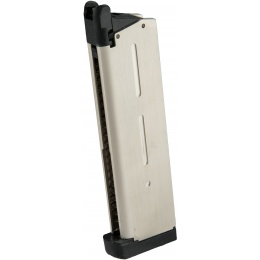 Cybergun Spartan STS-7 1911 MEU Green Gas Magazine - WHITE