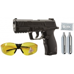 Umarex Essentials MCP Non-Blowback CO2 Air Pistol Kit - BLACK