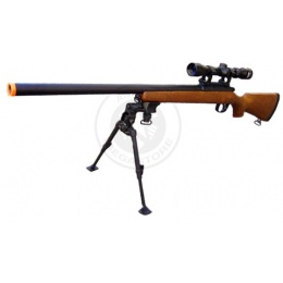AGM Bolt Action VSR-10 Airsoft Sniper Rifle w/ 4-9x32 Scope + Bipod