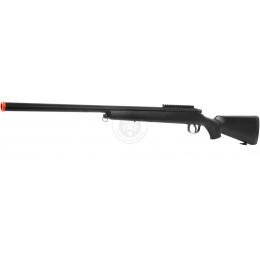 AGM Metal Bolt Action VSR-10 Airsoft Sniper Rifle - BLACK