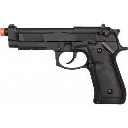 Double Bell M92 Gas Blowback Airsoft Pistol - BLACK