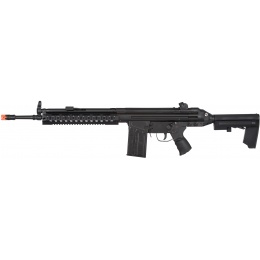 LCT LC-3 AR Airsoft AEG w/ RIS Handrail and AR Stock - BLACK