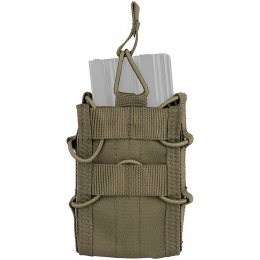Lancer Tactical Airsoft Single M4/M16 Magazine Pouch - OD GREEN