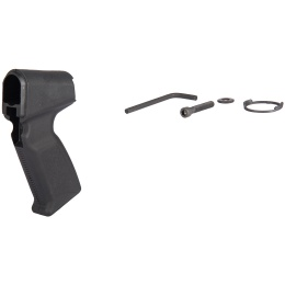 AIM Sports Ergonomic Angled Airsoft Shotgun Pistol Grip - BLACK