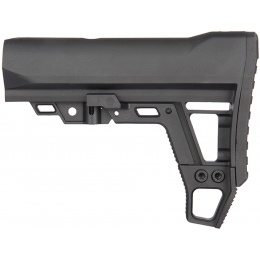 AIM Sports Airsoft Advanced Modular Mil-Spec Stock - BLACK