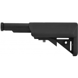 Lancer Tactical Retractable SOPMOD Stock w/ Buffer Tube - BLACK