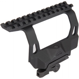 AIM Sports Side Mount AK Series Optic Rail - BLACK