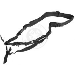 NcStar 2 Point Tactical Sling System (Convertible) - Black