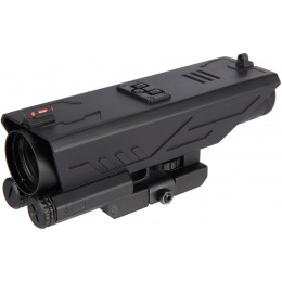 NcStar DELTA 4X30 Sniper Reticle Scope w/ Nav LED - BLACK