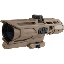 NcStar Gen-3 3-9X40 Tactical Mark III MIL-DOT Scope - TAN