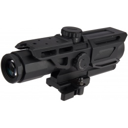 NcStar Gen-3 3-9X40 Tactical Mark III MIL-DOT Scope - BLACK