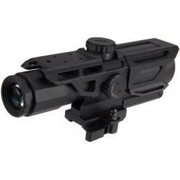 NcStar Gen-3 3-9X40 Tactical Mark III MIL-DOT Scope - BLACK