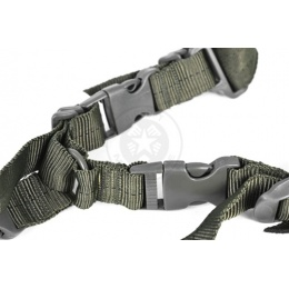 NcStar 2 Point Tactical Sling System (Convertible) - OD