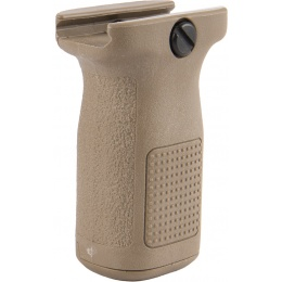 PTS EPF2 20mm Picatinny Vertical Foregrip w/ Storage (SHORT) - TAN