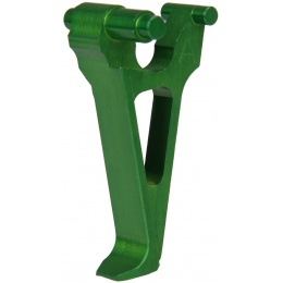 Retro Arms Anodized Aluminum Trigger for AK Series - GREEN (Type A)