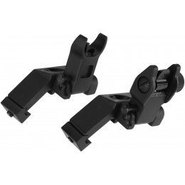 AIM Sports AR 45 Degree Flip-Up Front and Rear Sights