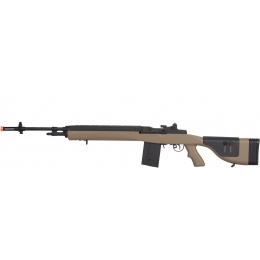 Lancer Tactical M14 AEG w/ Adjustable Cheek Rest - TAN
