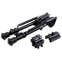 NcStar Precision-Grade Full Size Bipod w/ 3 Mount Adapters - 7