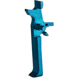Retro Arms Anodized Aluminum Trigger for AR15 Series - LIGHT BLUE (Type C)