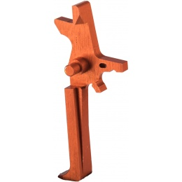 Retro Arms Anodized Aluminum Trigger for AR15 Series - ORANGE (Type C)