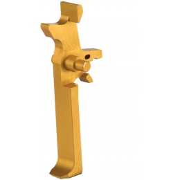 Retro Arms Anodized Aluminum Trigger for AR15 Series - GOLD (Type C)