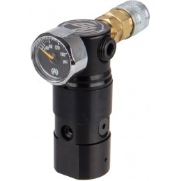 Wolverine Airsoft Storm HPA On-Tank Regulator - BLACK