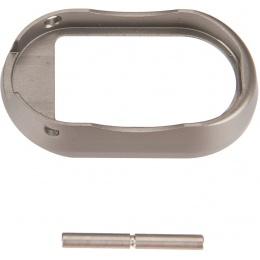 5KU Hi-Capa GBB CNC Aluminum Magwell - TITANIUM