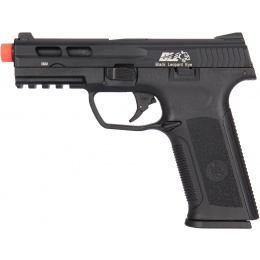 ICS XAE Adjustable Hop Up Gas Blowback Airsoft Pistol - BLACK