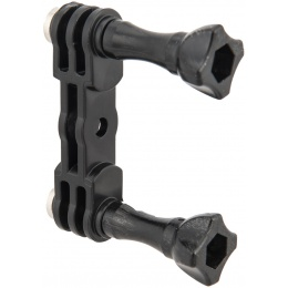 Fast Dual Sporting Camera Mount for GoPro - BLACK